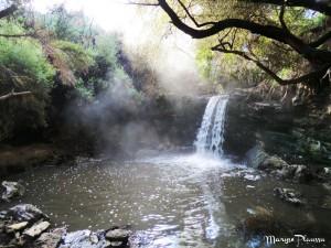 cascade chaude geyser