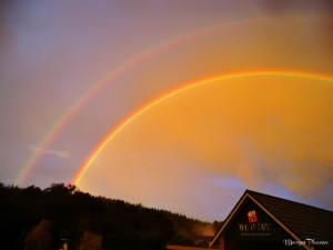 double arc en ciel Wai-O-Tapu
