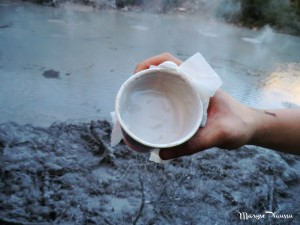 tasse de boue