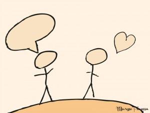 parler pour être aimé