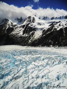 Crevasses Franz Josef Glacier