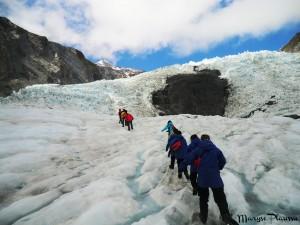 Groupe - Trou-noir - Franz Josef Glacier