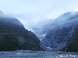 Pied du Franz Josef Glacier