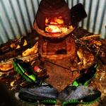 Soirée au feu de bois