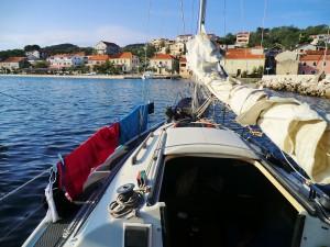 bateau avec Simon et Rodrigo