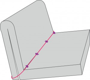 schéma matelas canapé