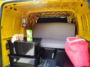 voyage camion équipement