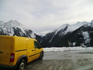 voyager en camion quand il fait froid